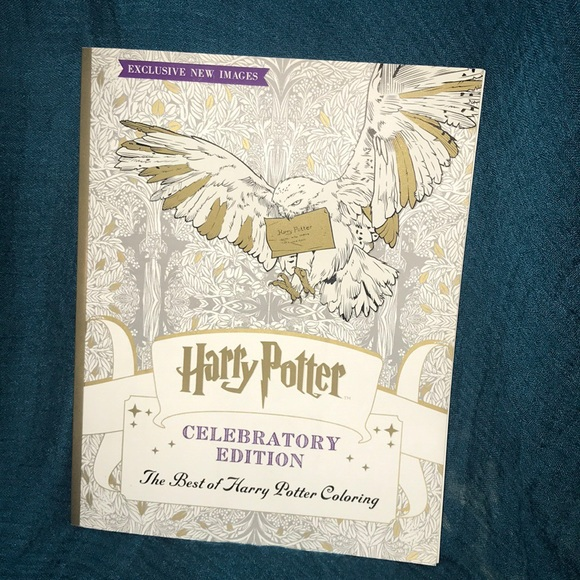 Harry Potter Celebratory Edition Coloring Book